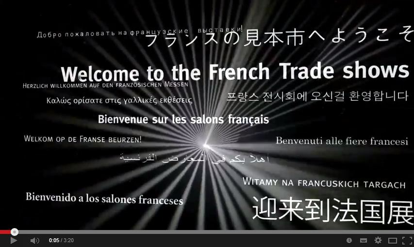 BIENVENUE SUR LES SALONS FRANCAIS : quand l'innovation inspire le business !